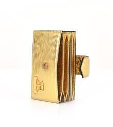 Basket CardHolders: Golden
