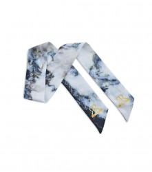 Scarf Marble: Grey