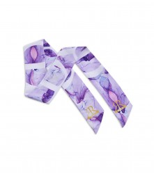 Scarf Water Color: Purple
