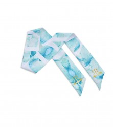 Scarf Water Color: Blue