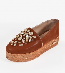 Wedge: Covered - Brown