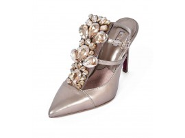 Heels: Clustered - Taupe
