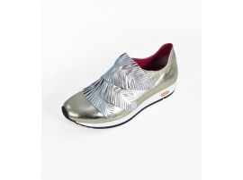 Loafer: Palms with Silver leaves