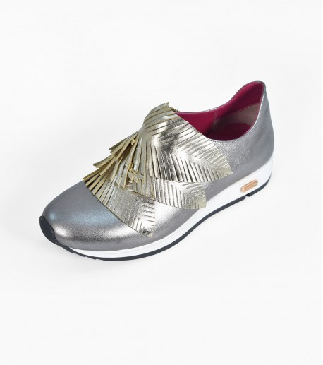 Loafer: Palms with Gold leaves