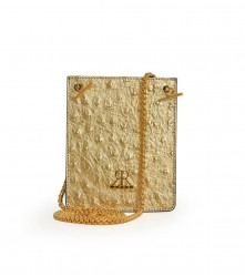 Mobile MSG - Ostrich - Gold