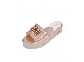 Wedge: Crystal - Rose Gold