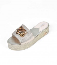Wedge: Crystal - Gold